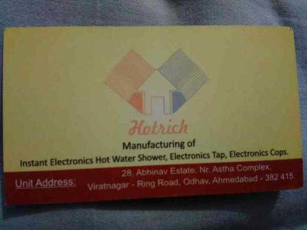 manufacturers of electronic tap, electronic shower, electronic cops in Ahmedabad  - by Varinindra Electro, Ahmedabad