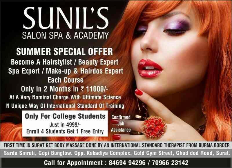 Scientific Body spa @ 1000/- - by Sunil's Salon Spa & Academy , Surat