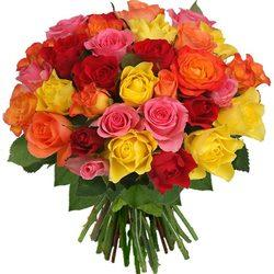 Multitude-of-Roses-bouquet. - by Sunsris Exports, Chennai