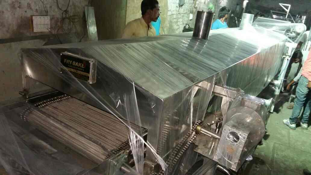 #NAMKEEN CONTINUES FRYER# #NAMKEEN MEKING MACHINE# #BHUJJIYA MEKING MACHINE# #NAMKEENFRYER# - by Fry Bake Food Equipment, Ahmedabad