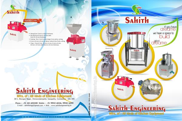 Sahith Catalog - by Sahithengineering                                                  9994368446, Coimbatore