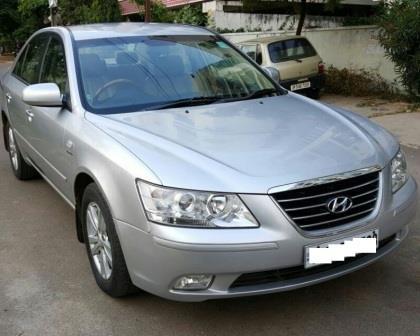 HYUNDAI SONATA CRDI AT:MODEL 04/2011, KM 62260, COLOUR SILVER, FUEL DIESEL, PRICE 900000 NEG. - by Nani Used Cars, Hyderabad