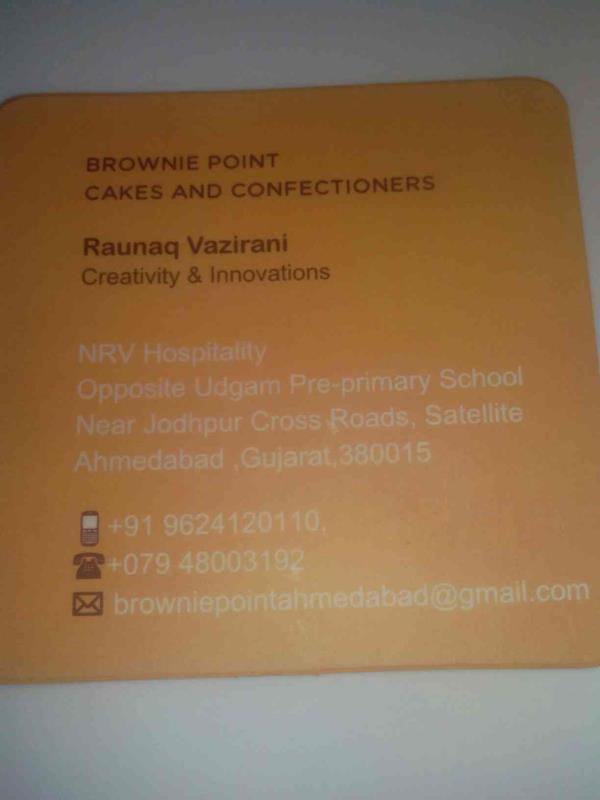 We are pioneer in brownies. - by Brownie Point, Ahmedabad