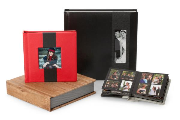 Kingston Flush Mount Album:  Elegant and sleek, the Kingston Flush Mount Album is an excellent choice for a sophisticated presentation.  This custom album is available in a variety of cover materials and colors to suit any style, and inclu - by Ultraa Albums, Mumbai