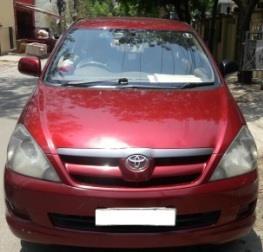 TOYOTA INNOVA 2.5G 8STR:MODEL 03/2005, KM 123616, COLOUR RED, FUEL DIESEL, PRICE 550000 NEG. - by Nani Used Cars, Hyderabad