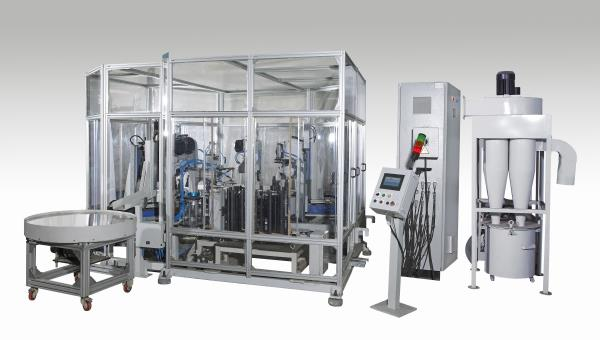 Special Purpose Machine For Synchrohub Automatic Deburring Machine - by Delight Process Designers &Automation, Pune