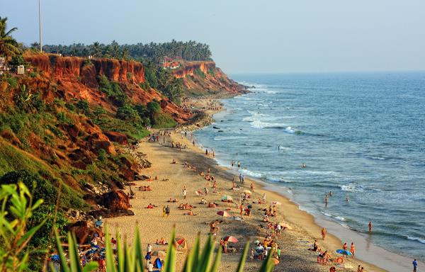 Around 48 kms from Hotel Oasis, Trivandrum, there is a coastal town named Varkala. Its a suburban town of Thiruvananthapuram district. Varkala is the only place in south Kerala where there is a cliff adjacent to the beach and it is declared - by Hotel Oasis, Trivandrum