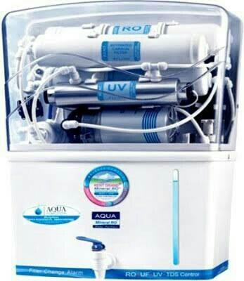 we are authorized dealer of Aqua grand RO plus UV water purification system in vadodara and provide AMC servicea to all types of RO systems - by Vishwa Electricals, Vadodara