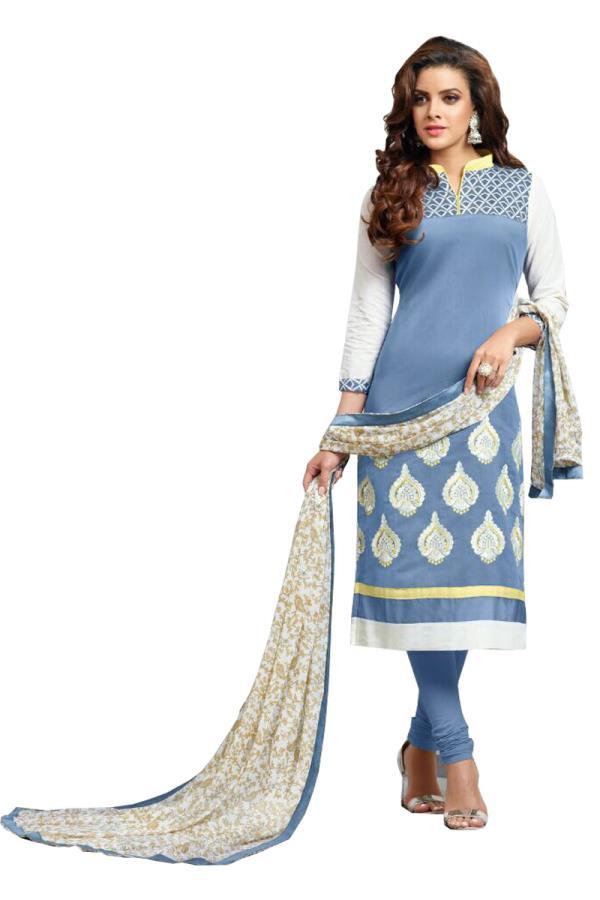 top-cotton bottom-cotton dupatta-chiffon size-free http://www.craftsvilla.com/BEAUTYSTYLE - by beautystyle, Surat