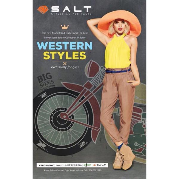 Multi Brand Western Wear Exclusively For Girls. - by SALT Multi Brand Outlet, Indore