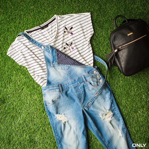 Let's say hello to our inner bad boy with these  #denimdungarees! - by SALT Multi Brand Outlet, Indore