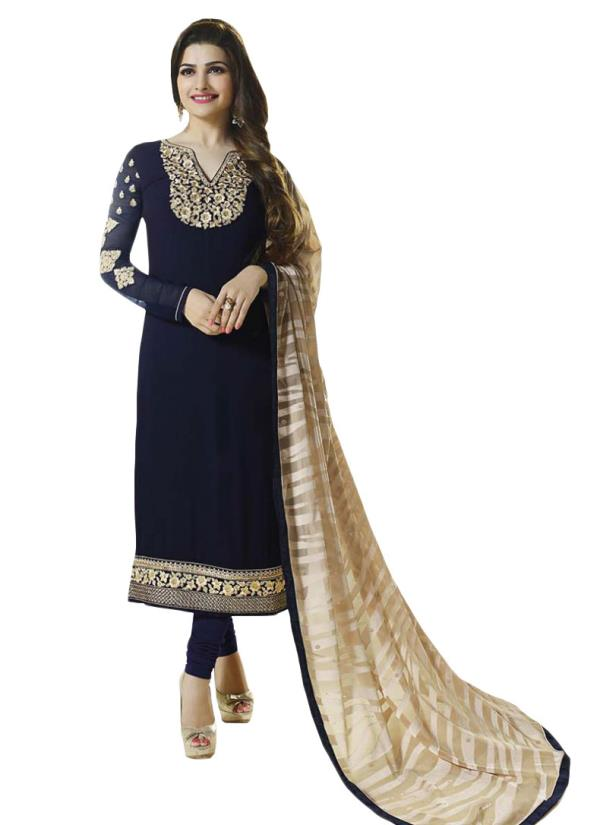 Sale sale sale Best quality Material  Wid best rate  Single available at wholesale rate  Fabric heavy georgette with fancy dupptta Ready to dispatch  Book ur order fast - by Bhagyalaxmi Fashion, Surat