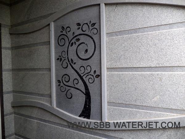 Granite Flower Designs Inlay  Water Jet Cutting Coimbatore  Water Jet Cutting Job Work In Coimbatore   Water Jet Cutting In Tamil Nadu  Water Jet Cutting In Erode  Water Jet Cutting In Tiruppur  Water Jet Cutting In Coimbatore  Stone Cuttin - by SBB Water Jet, Coimbatore