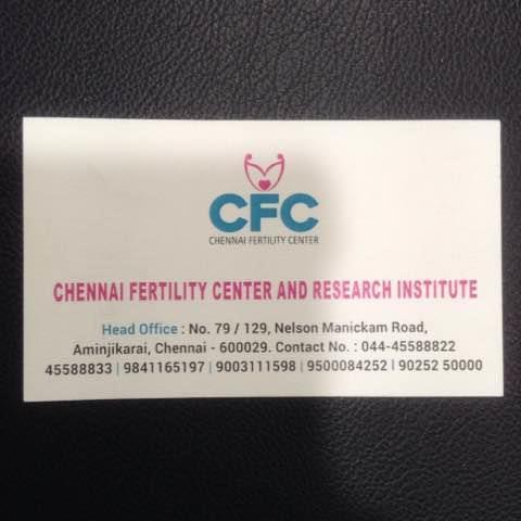 Chennai Fertility Hospital is the Best Fertility Hospital in Chennai. - by Chennai Fertility Center, Chennai