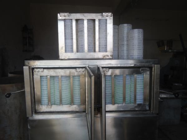 Idiyappam steam cooker. - by Lalit Food Machines, Chennai