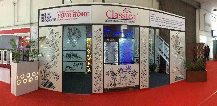 Architectural Laser Cut Doors.  Classica is one of the leading Unique Laser Cut Doors and Gates Manufacturer in Coimbatore.  For more info:  www.theclassica.com - by Classica Decorative Design, Coimbatore