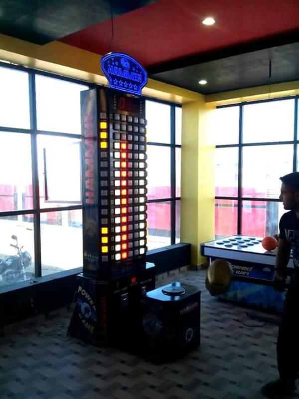 Game Zone have Hammer machine.  Hammer Machine for kids. Hammer machine for Adults. Electronic Hammer machine games. Hammer machine games in Pitampura.  - by Games Zone, Delhi
