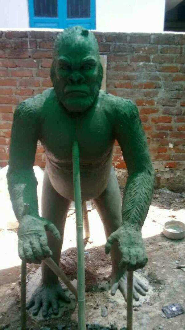 FRP GORILLA WILD ANIMAL - by Jyoti Fiber Glass Works, Ahmedabad
