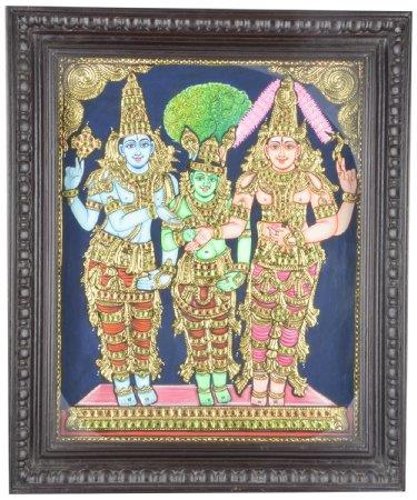 Varrmas Arts & Crafts is a well known organization engaged as the Manufacturer and Supplier of a Wide Range of Paintings. It also provides Services for Wall Paintings as well.  Leading Manufacturers of Tanjore Paintings Service Providers fo - by Varrmas Arts & Crafts, Coimbatore