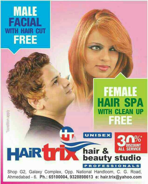 FACIAL EXPERTS IN AHMEDABAD   Hello all Gentle Men   It is best time to grab the opportunity for toning your face with expert. book your appointment with expert for Facial and got one hair cutting session free.