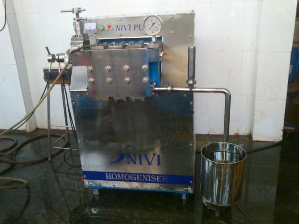 Dairy Homogenizers  - by Navin Engineering Works, Coimbatore