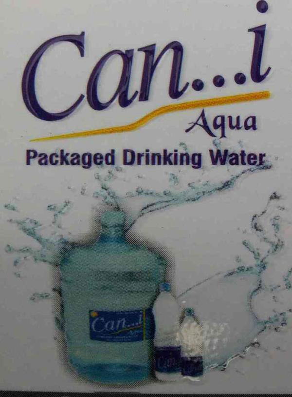 Can I  a brand which is a name for packed drinking water for Vadodara. - by Can I Aqua, Vadodara