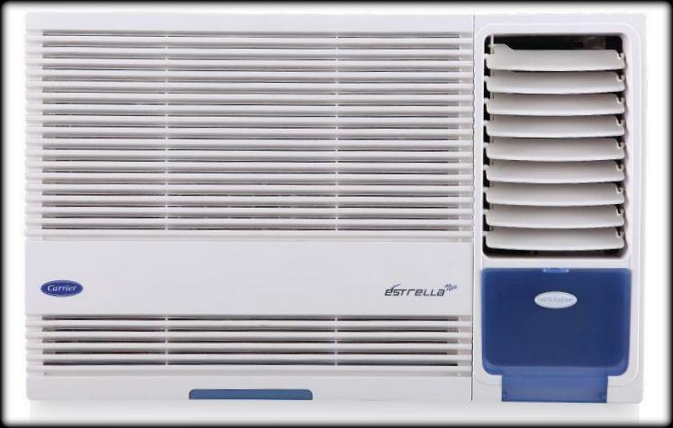 Looking for Carrier Window AC.   With features like 4 in 1 filter & Nexgen Dehumidifier, the Estrella window AC is your choice for a smart and efficient air conditioner. Its Powerful airflow and Energy Saver mode ensure that you get maximum - by Empire Airconditioning Pvt Ltd, Ahmedabad