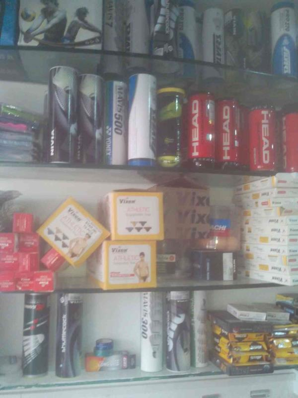 We have a wide range of games equipments. - by Vakil Sports, Ahmedabad