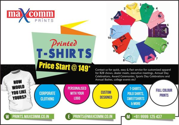 Promo T-shirts, Caps Printing services in Patpargang, East Delhi. - by Maxcomm India Private Limited, New Delhi
