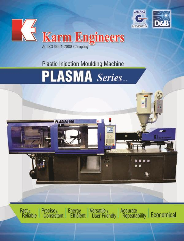 we are manufacturer of plastic injection moulding machines in gujarat vadodara.  we provide machine with state of the art technology with best quality. - by Karm Engineers, Vadodara