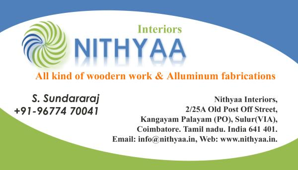 tamil expoters. tamilnadu exporters. - by Nithyaa Interiors, Sulur
