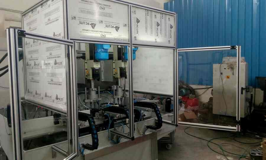 Machining SPM for bearing cap. - by Delight Process Designers &Automation, Pune