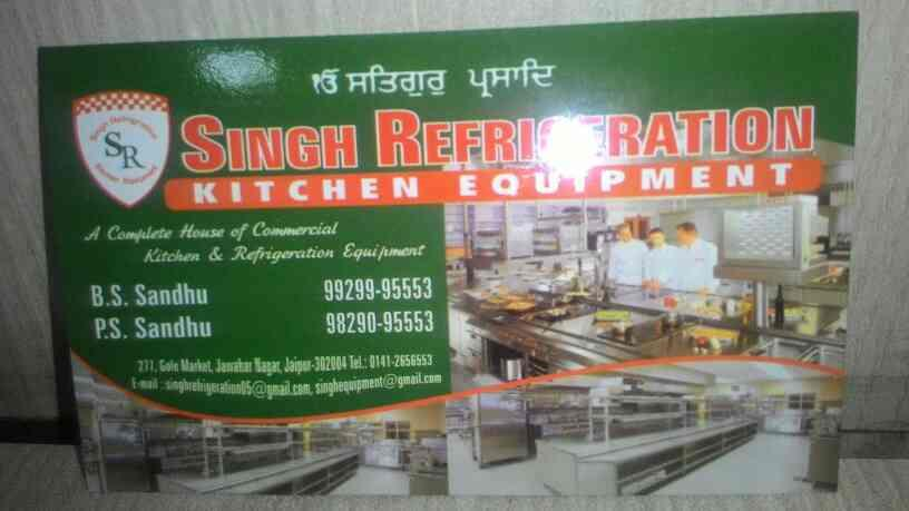 Commercial Kitchen Equipment Manufacturers in Jaipur - by SINGH Refrigeration Kitchen Equipment, Jaipur