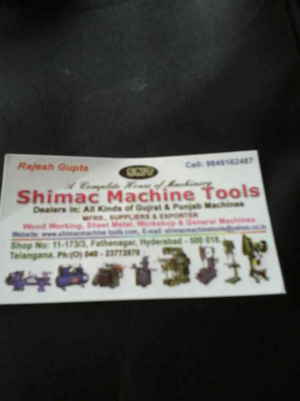 best dealers for machine tools in hyderabad  - by Shimac Machine Tools, Hyderabad