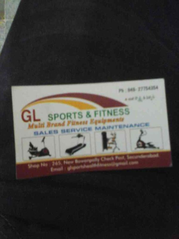 multi brand fitness  equipments in hyderabad  - by Gl Sports And Fitness , Hyderabad