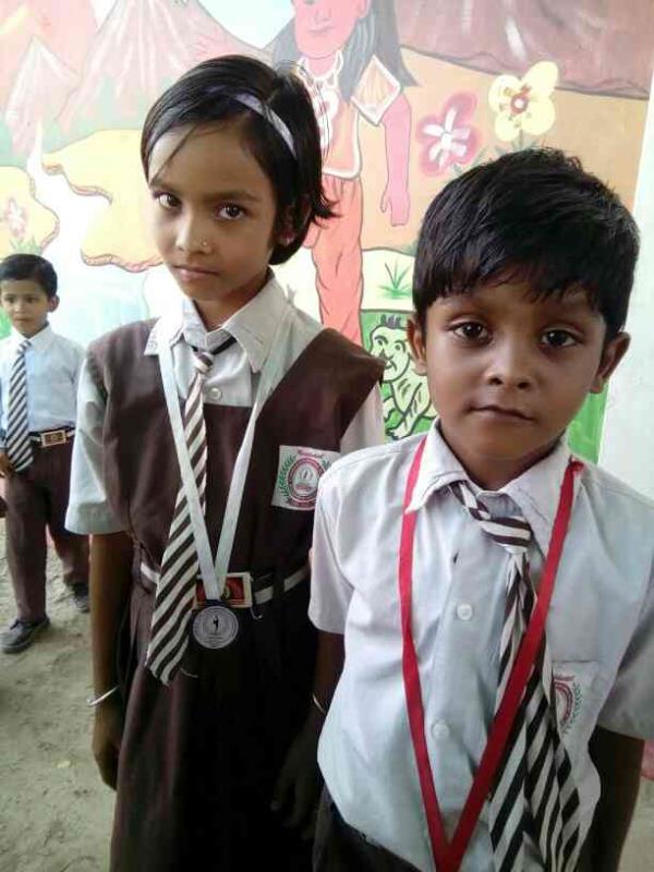 Little champions. - by Jawahar International School, East Champaran