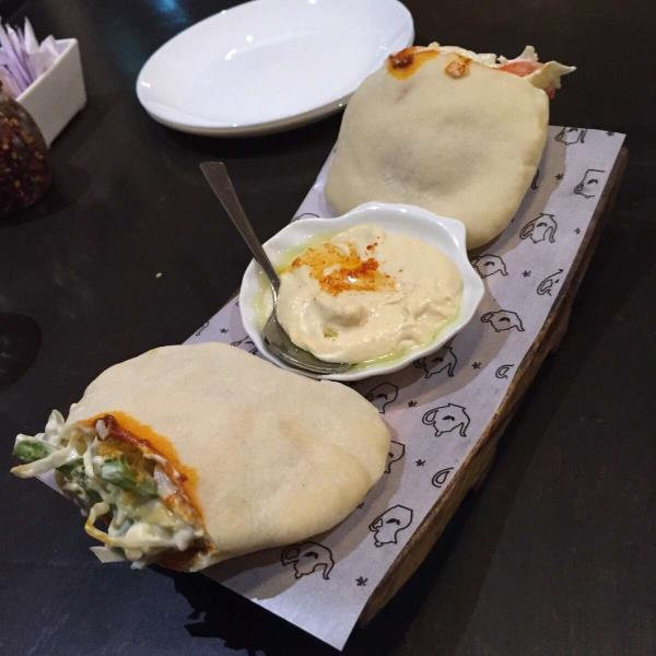 Falafel pitta sandwich - by varieTea - chai, masti & more, Ahmedabad
