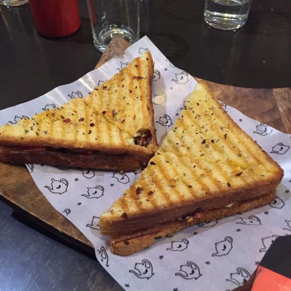 Smoky tomato sandwich - by varieTea - chai, masti & more, Ahmedabad