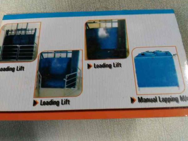 Shree Ram Engineering   Manufacturers of Loading Lift, Industrial Lift, Manual lapping machine in Ahmedabad  - by Shree Ram Eng, Ahmedabad