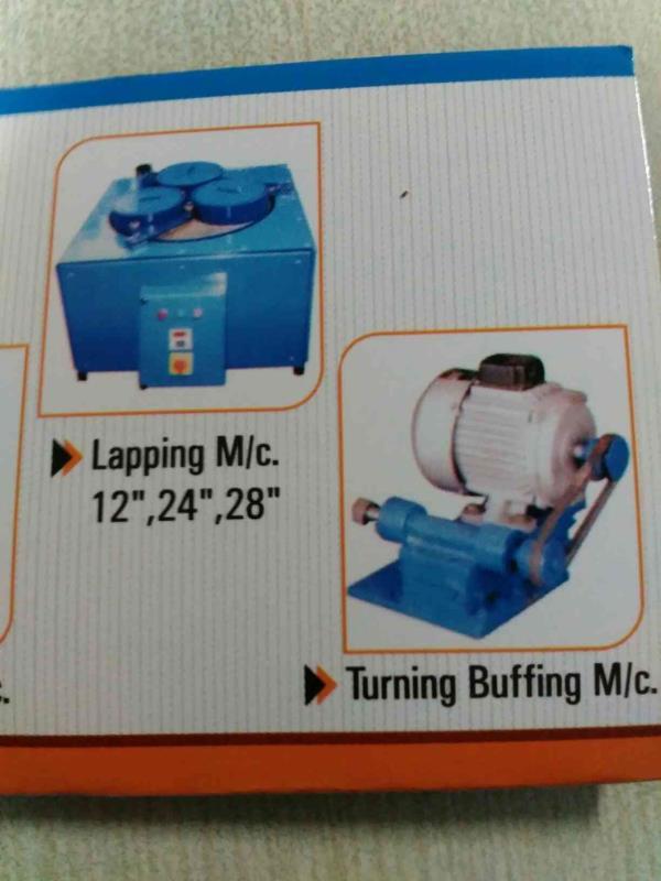 Lapping Machine  Turning Buffing Machine  - by Shree Ram Eng, Ahmedabad