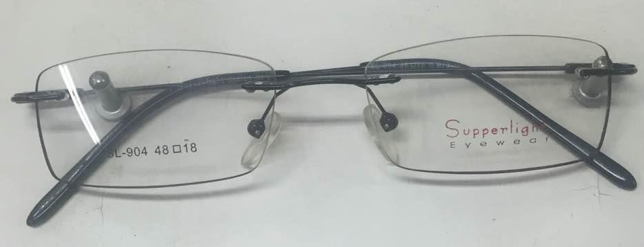 BB CODE = 006  PRICE = 1250 INR   Rim less lite weight frame for uni sex ..  - by BLUE BAY OPTICS, Chennai