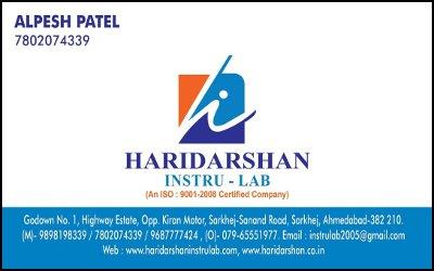 We are the leading dealer, exporter and supplier of Automatic Level , Total Station, GPS, Speed radar gun, Compression testing machine, Underground pipe and cable locator, coating thickness guage, press o film (testex, usa). we are indulged - by HARIDARSHAN INSTRU-LAB, Ahmedabad
