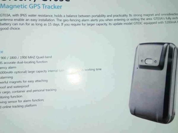 Magnetic GPS Tracker - by KALKI SOLUTIONS, Chennai