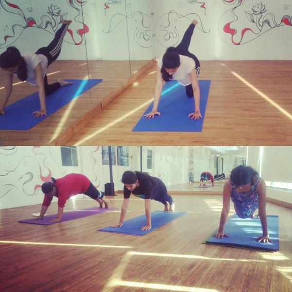 Building Core Strength one class at a time. Pilates in Pune at Om Studio.  - by OM STUDIO, Pune