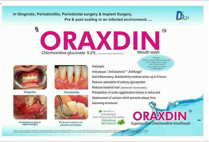 ORAXDIN  - by Dr Pearl Pharmaceuticals, Tiruchirappalli