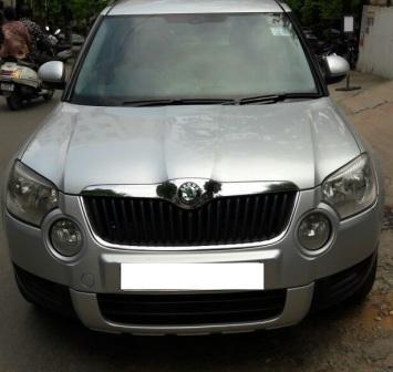 SKODA YETI AMBIENT MT:MODEL 03/2011, KM 54188, COLOUR SILVER, FUEL DIESEL, PRICE 12, 50, 000 NEG. - by Nani Used Cars, Hyderabad