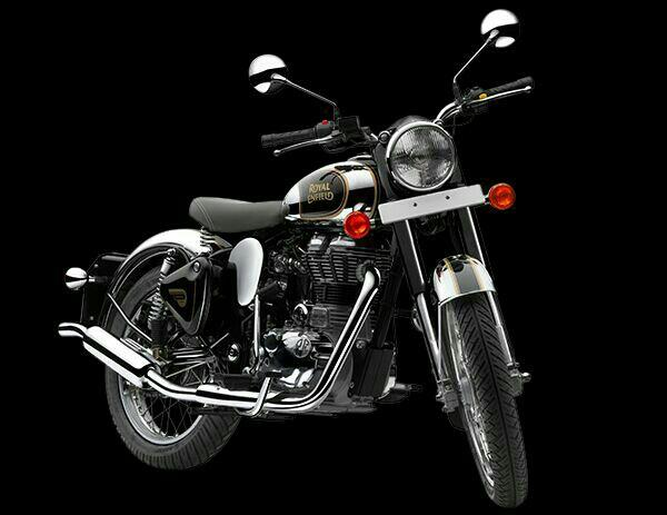 RoyalEnfield Chorme 500 Black Available Classic Motors - by CLASSIC MOTORS, Madurai