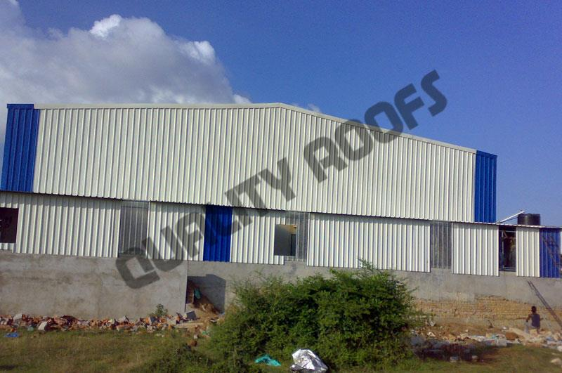 Leading Roofing Shed Manufactures In Chennai  we are the best Light Roofing Contractors In Chennai, we undertake all Metal Sheet Roofing In Chennai at very Competitive price using 1st quality Galvalume Roofing Sheets.. - by QUALITY ROOFS PVT LTD           Call us : 9841510901, chennai