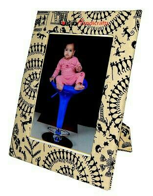 Eco friendly world print Photo Frame @Aditi handicrafts in Jaipur - by Aditi Handicrafts, Jaipur