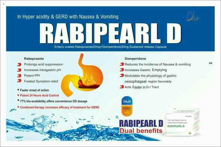 RABIPERAL D - by Dr Pearl Pharmaceuticals, Tiruchirappalli